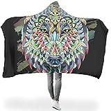 TengmiuXin leicht Verschiedene Muster Hoodie Wearable Super Soft Throw Blanket Fühlen Sie Sich gut...