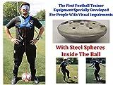 Llera SPort Fußballtrainer Kickausrüstung Blindtrainingsmethode Fußball-Trainingsgerät für...