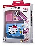 Nintendo 3DS - Zubehr-Set 'Essential Hello Kitty' Blau (3DS/DSi)