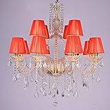 Im europäischen Stil Kronleuchter aus Kristall kreativer Wohnzimmerlampe KTV Bar Hotel Golden Mann...