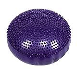 Akozon Yoga Balance Kissen 13.39x1.18inch Weiches PVC Pilates Balance Board Disc Gym Stabilitt...