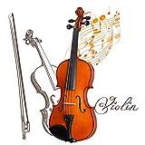 YANG Geige Kolophonium Geige Handgefertigt Mit Knackigem Klang, Anfängerinstrument Mit...