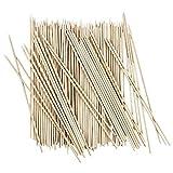Schaschlik-Spieße aus Holz | Holzspieße | Grillspieße | 20cm lang, Ø 3mm breit | 100 Stück