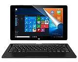 ALLDOCUBE iwork10 Pro 2-in-1 10.1'' Tablet PC mit Tastatur,Windows 10 + Android,Intel Quad...