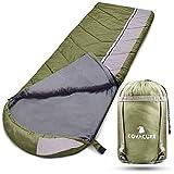 COVACURE Schlafsack Deckenschlafsack - Leicht, Kompakt, Wasserdicht, Warm fr 3 Jahreszeitenn Drinnen...