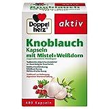 Doppelherz Knoblauch Kapseln mit Mistel + Weißdorn – Zur Vorbeugung allgemeiner...