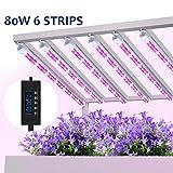 MIXC pflanzenlampe 80W LED Pflanzenleuchte, Pflanzenlicht Wachsen licht Vollspektrumverbesserte Grow...