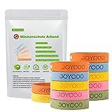 Joycoo Mckenschutz Armband 12er-Pack Insektenschutz-Armband 100% natrlich, Deef-Frei, ungiftiges,...