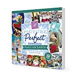 Hunkydory – Picture Perfect Christmas Papier-Block, 20,3 x 20,3 cm, Peace on Earth