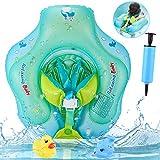 AsperX Baby Schwimmring, Baby Schwimmt Schwimmen Verstellbare Aufblasbare Schwimmer, Perfekt...