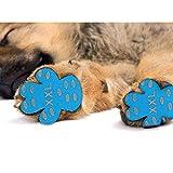 New168 Hundepfotenunterlage, rutschfest, rutschfest, rutschfest, Einweg-Hundeschuhe, Ersatz für...
