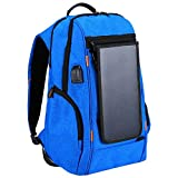 YWSZY Outdoor-Kamera-Rucksack Mit Solar-Panel USB-Anschluss Wasserdicht Atmungs Travel Camera Bag...