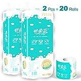 Toilettenpapier 4lagig 2 Pcs Kleinrollen Klopapier Aus Zellstoff Toilet Paper Super Saugfhig...