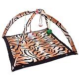 Warm comfort Wightlink Cat Dog Activity Spiel-Matten-Soft-Fleece Pet Kitten Padded Hubbett Toy Mat...