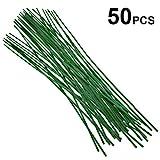 50 Stck Pflanzsttzen grn Pflanzstbe 60 cm ca.  5 mm