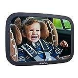 Rcksitzspiegel fr Babys aus bruchsicherem Material, Auto Rckspiegel fr Kindersitz und Babyschale,...