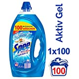 Spee Aktiv Gel, Flssigwaschmittel, 100 Waschladungen mit mehr Frische-Gefhl