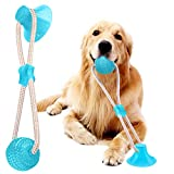 VZATT Hundespielzeug mit Saugnapf, Hund Molar Bite Spielzeug Saugnapf Hundespielzeug, Multifunktions...