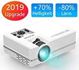 WONNIE Mini LED Beamer, Echte 2400 Lumen, Video Projektor mit 1080P Ful lHD Unterstützung,...