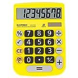 Catiga CD-8185 Taschenrechner für Büro und Zuhause, 8-stellig, pädagogisch, geeignet für Schule...