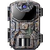 Victure Wildkamera Fotofalle 20MP mit Bewegungsmelder Nachtsicht 1080P Full HD Beutekameras mit...