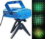 Lunartec Laser Licht: Indoor-Laser-Projektor, Sternenmeer-Effekt, Sound-Steuerung, grün/rot...