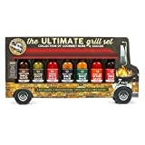 Modern Gourmet Foods - Ultimate Grill Geschenkset - Food Truck Probierset Mit 7 Leckeren Grillsaucen...