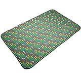 ruziniujidiangongsi Sound Bars 19.5''X 31.5'' Inch Decorative Doormat Non-Slip Bath Mat,...