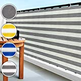 casa pura Balkon Sichtschutz UV-Schutz   90x500cm   wetterbestndiges und pflegeleichtes...
