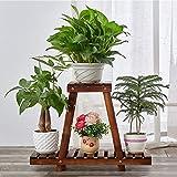 GAOX Flower Shelf Home Mehrschichtiger Massivholzboden für Innenbereich Flower Pot Rack -3.14 (Size...