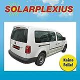 Solarplexius Sonnenschutz Autosonnenschutz Scheibentönung Sonnenschutzfolie Caddy IV Maxi ab 15