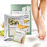 Exfoliating Foot Mask Pedicure Socks Exfoliation for Feet Mask Remove Dead Skin Heels Foot Peeling...