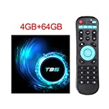 WXJHA Android 10.0 TV Box 4GB 64GB Amlogic 2.4G / 5G Dual-WiFi 1000M BT4.1 H.265 4K 60fps...