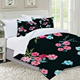 not Bettbezug,Flowery Bright Pattern in Small Scale Wild Candy Flowers Liberty Millefleurs Floral...