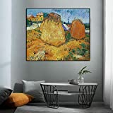 jiushice Rahmen Landscape Prints Canvas ng Wall Pictures for Living Room Decor 40x60cm