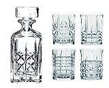 Spiegelau & Nachtmann, Whisky-Set, 5-teilig, Karaffe mit 4 Gläsern, Kristallglas, Highland,...