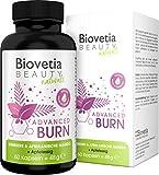 Biovetia Advanced Burn Fatburner Kapseln, natürliche Diät Formel für schnelles Abnehmen und...