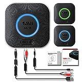 1Mii B06 Plus Bluetooth Empfänger - Adapter auf Aux, 3,5 mm Klinke und Chinch