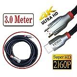 Premium HDMI Kabel High Speed Ultra HD 4K 2160P 1080P 3D Kabel TV 1,5 m 3 m 5 m 3M Schwarz