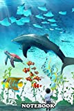 Notebook: I Love Ocean Life , Journal for Writing, College Ruled Size 6' x 9', 110 Pages