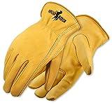 Galeton 25001pr-m 25001pr Rough Rider Premium Leder Treiber Handschuhe, elastische Rückseite,...