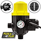 TROTEC Elektronischer Druckschalter TDP DSP Pumpensteuerung Druckwächter für Hauswasserwerk...