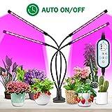 Pflanzenlampe 36W 96LED, Lovebay 4 Heads Pflanzenlicht, LED VOLLSPEKTRUM Wachsen licht fr...