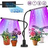 AODOOR Pflanzenlampe, 40 LED Pflanzenlicht mit Loop-Automatik-Timer, 20W Pflanzenleuchte...