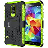 ykooe Galaxy S5 Mini Hülle, (TPU Series) S5 Mini Dual Layer Hybrid Handyhülle Drop Resistance...