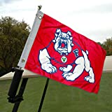College Flags and Banners Co. Fresno State Golfwagen- und Bootsflagge