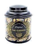 1 x 100 Gramm - The Capsoul Feine Tee Té Negro Jengibre Limòn Loseblatt / Tee schwarze Zitrone und...