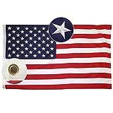 Lixure Amerikanische Flagge/Fahne USA Flagge 90x150cm(3x5 Fu) US Flagge Permium Qualitt Langlebige...