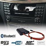 Mercedes Benz Bluetooth Freisprecheinrichtung A2DP USB SD AUX MP3 WMA Player Faser Adapter Interface...