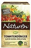 Naturen Bio Tomatendünger, Organisch-mineralischer Volldünger für Tomaten, Kürbis, Zucchini mit...